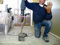 how to remove tile mastic or thinset the easy way be your own handyman home youtube