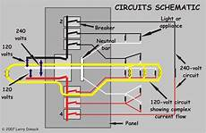 diagram of circuit in home yellow arrows show current flow circuits a circuit is a path over