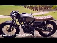 Kawasaki W175 Modif Cafe Racer by Kawasaki W175 Review Kawasaki W175 Cafe Racer Modifikasi