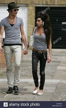 Winehouse And Husband Fielder Civil Leave Home