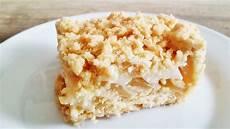 Apfelblechkuchen Mit Streusel - rezept apfelkuchen mit pudding und streusel