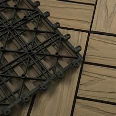 holzfliesen klicksystem wpc terrassenfliesen bodenfliese holzfliesen klicksystem