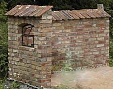 Ziegelsteinmauer Aus Barockformatziegeln Ziegelsteine