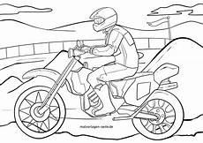 ausmalbild motorrad kinder ausmalbilder