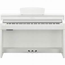 yamaha e piano clp 535 w in wei 223 im set