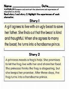 compare and contrast rl1 9 literacy compare contrast