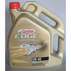 castrol 5w40 castrol edge turbo diesel 5l