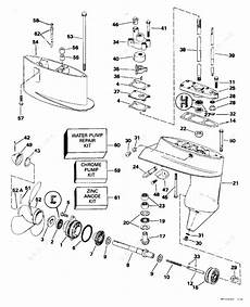 1995 johnson outboard wiring diagram johnson 1995 4 j4rdheod gearcase parts catalog