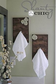 bathroom towel hook ideas diy towel hooks shanty 2 chic