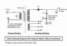 how to use a flyback transformer where is the primary and secondary coil quora