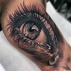 50 realistic eye tattoo designs for men visionary ink ideas