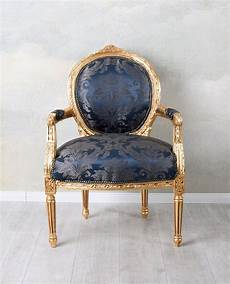 franz 246 sischer sessel barock landhaus toile de jouy stuhl