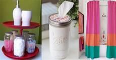 bathroom craft ideas diy bathroom decor projects
