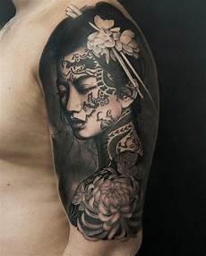 1001 coole und effektvolle samurai ideen tattoos