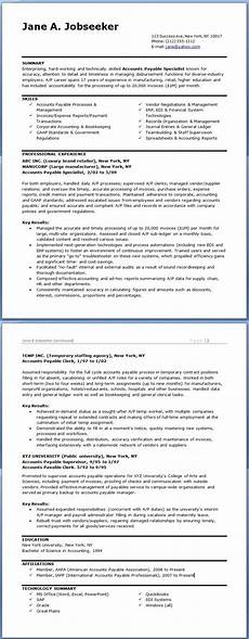 accounts payable specialist resume templates resume exles professional hr resume