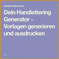 modisch dein handlettering generator vorlagen generieren