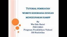 Tutorial Pembuatan Website Sederhana Menggunakan Xp