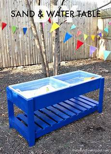 White Build A Sand And Water Play Table Free And