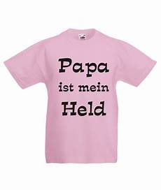 kinder t shirt mit motiv papa ist mein held fafuar