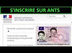 ants permis de conduire inscription num 233 ro neph