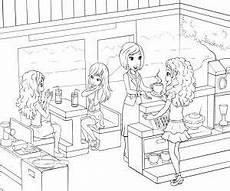 Malvorlage Kinder Restaurant Lego Friends Ausmalbilder Pdf Kinder Ausmalbilder