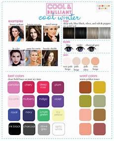 Winter Inspiration Colors Season