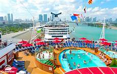 carnival eliminates adults only aft pools 7 cruise ships