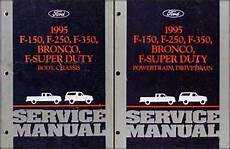 book repair manual 2007 ford f250 on board diagnostic system 1995 ford pickup truck repair shop manual original set f150 f250 f350 super duty bronco