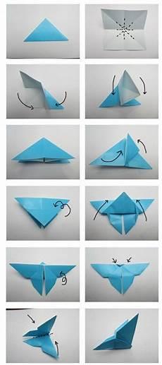 origami falten anleitung schmetterling serwetki motyle
