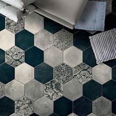 Carrelage Hexagonal Imitation Carreaux De Ciment 24x27 7