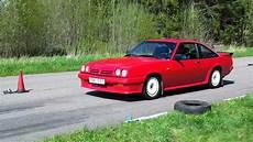 Opel Manta Gsi Exklusive Start Acceleration Lunda 2012 05