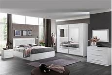 Sirolo Laque Blanc Chambre A Coucher Moderne Le Miroir
