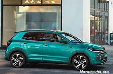 auto mit t volkswagen unveils t cross suv globally 4 new engines on