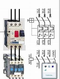 contacteur de puissance schema de branchement d un contacteur de puissance