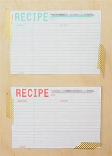5x7 recipe card template free 40 recipe card template and free printables tip junkie
