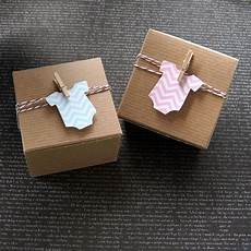 12 chevron baby bodysuit or romper baby shower favor box