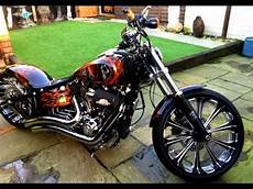 best custom of harley davidson breakout softail fxsb