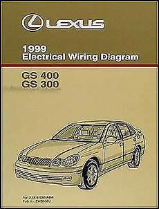 old car manuals online 2000 lexus lx free book repair manuals 1999 lexus gs 300 400 wiring diagram manual new gs300 gs400 original electrical ebay