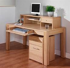 home office computer furniture oak corner computer desks for home office