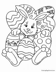 Malvorlage Ostern Gratis Easter 01 Coloring Page Coloring Page Central