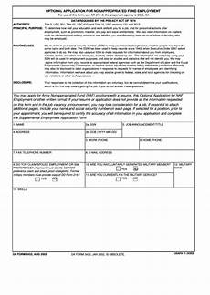 da form 3433 optional application for nonappropriated