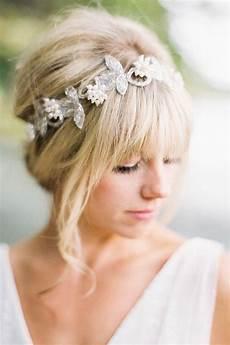 Brautfrisuren F 252 R Mittellange Haare Hoch Zeiten