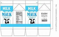 miniature milk template