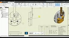 andrees inventor 2018 tutorial 16 baugruppe