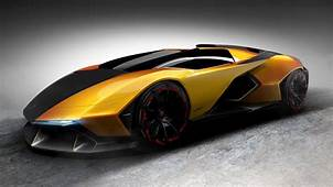 Lamborghini Vision Hypercar Concept For The Year Of 2022