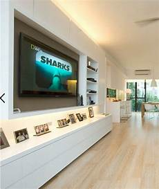 wohnwand led moderne wohnwand mit led beleuchtung 55 ideen
