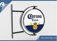 custom lighted and rotating pub signs outdoor wall