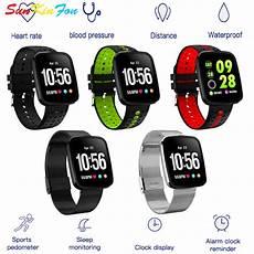 Color Waterproof Blood Pressure Measure by Sunkinfon Smart Wristband U5 Color Screen Waterproof