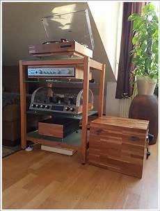 hifi rack holz kundenfoto hifi rack kirschbaum holz mit glasb 246 den flickr