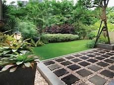 Desain Taman Belakang Rumah Yang Luas Destaman